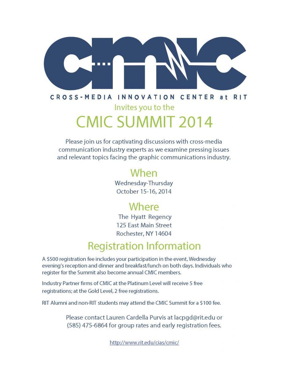 CMIC Invites You